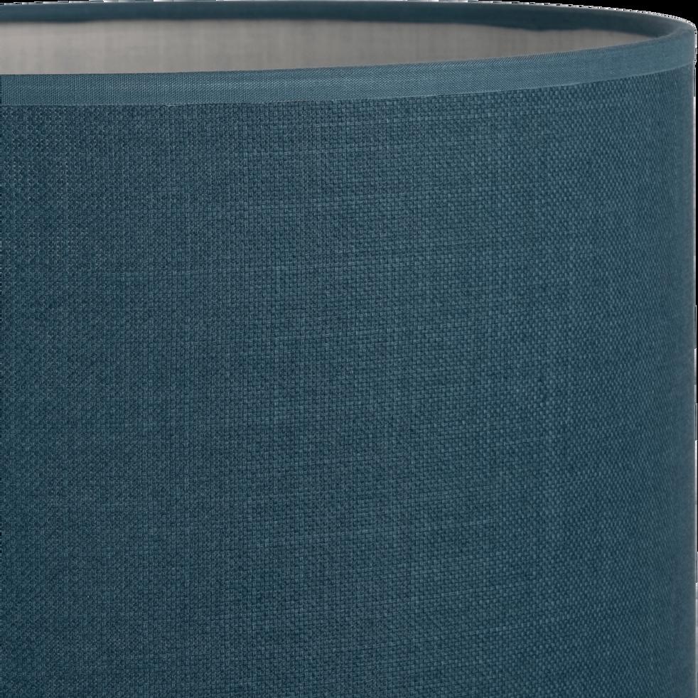 Suspension non-électrifiée en tissu bleu D40cm-MISTRAL