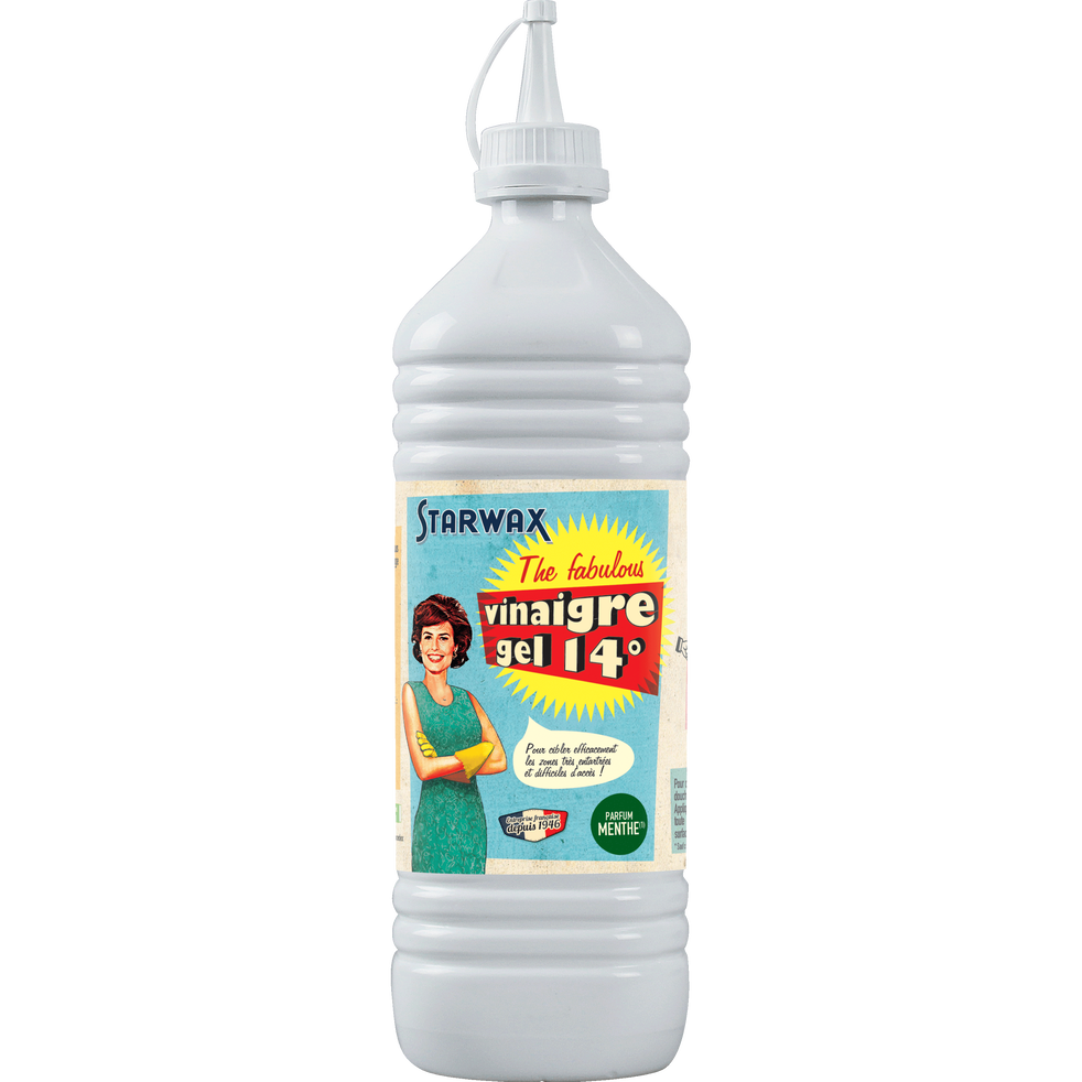 Vinaigre blanc gel parfum menthe 14°-FABULOUS