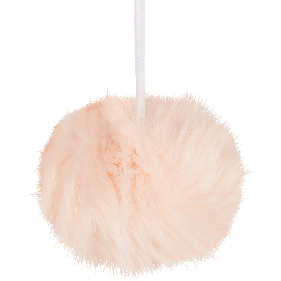 6 boules en polyester D10cm-ORIANE