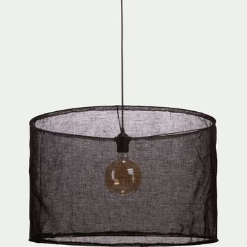 Suspension en lin noir D60cm-ORMES