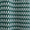 Rideau motifs art déco vert 140x250 cm-CARO