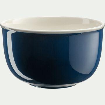 Saladier en porcelaine - bleu figuerolles D26cm-CAFI