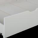 Tiroir de lit gris-GIGARO