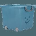 Bac de rangement 25L bleu figuerolles-ZACCHARIE
