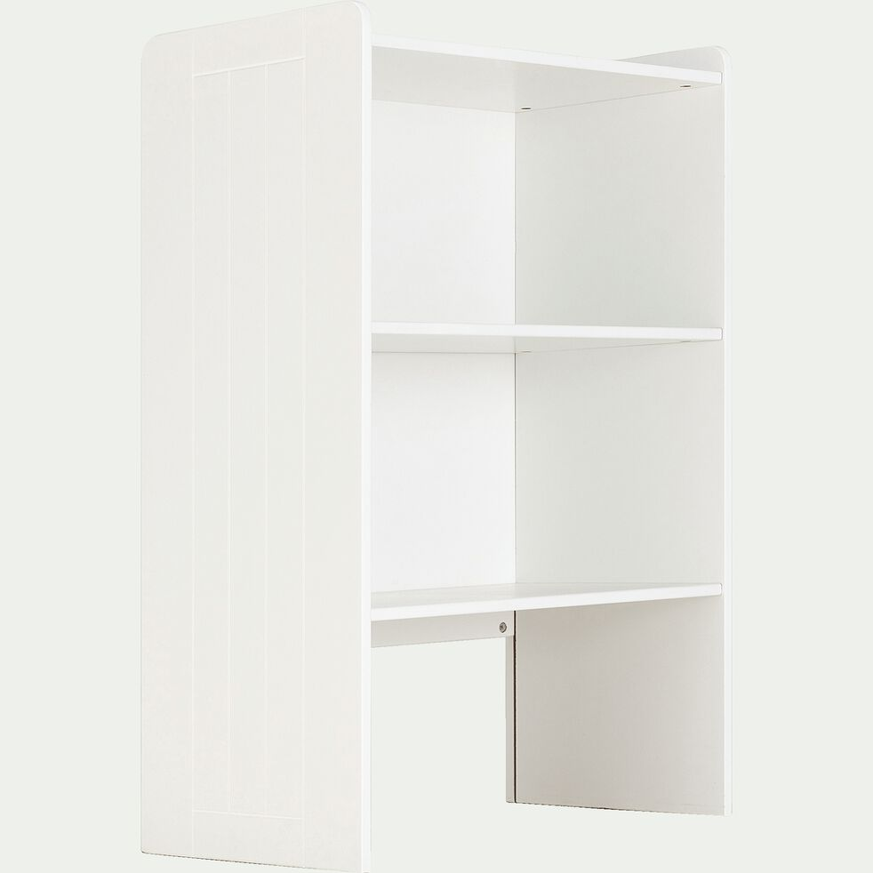 Bibliothèque chambre enfant - blanc H105xl70xP40cm-POLLUX