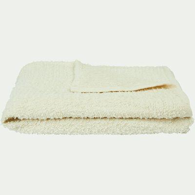 Plaid en coton effet duveteux 130X170 cm-BAHIA