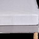 Drap housse 140x200cm beige-PISTOU