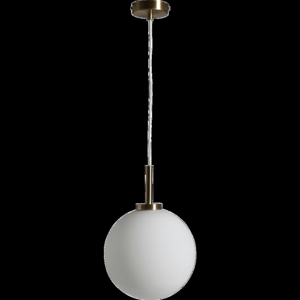 Suspension en laiton doré D25cm-MARIA