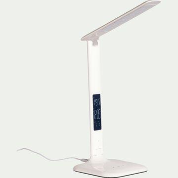 Lampe à poser LED tactile blanche-GLENN