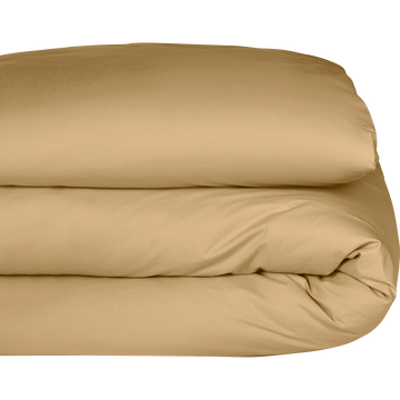 Housse de couette en coton beige nèfle 240x220cm-CALANQUES