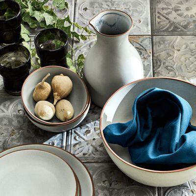 Pichet en grès bleu 1L-BLACK STONE