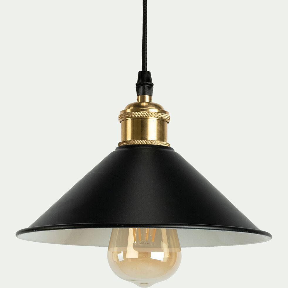 Suspension en métal 3 lampes - noir L80cm-GIULIAN