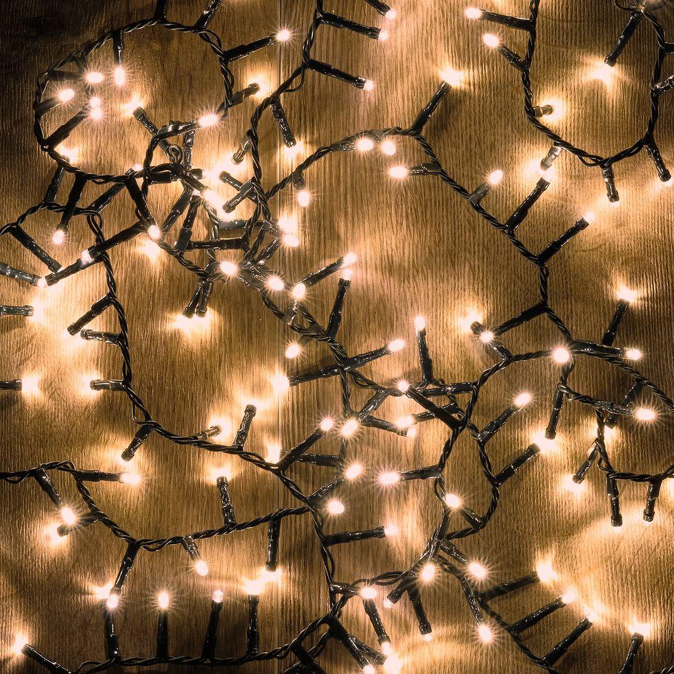 Guirlande électrique - D10x1600cm blanc-ANDRIA