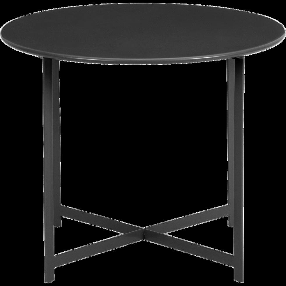 Table basse de jardin en acier noir - RETRA - alinea