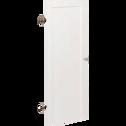 Porte pleine coloris blanc-BIALA