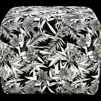 Pouf en tissu motifs INK.30-CALIFORNIA