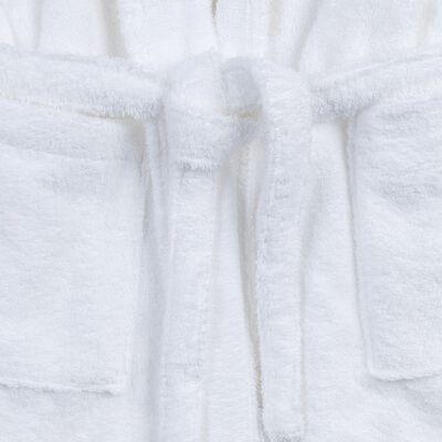 Peignoir en coton L/XL blanc-AZUR