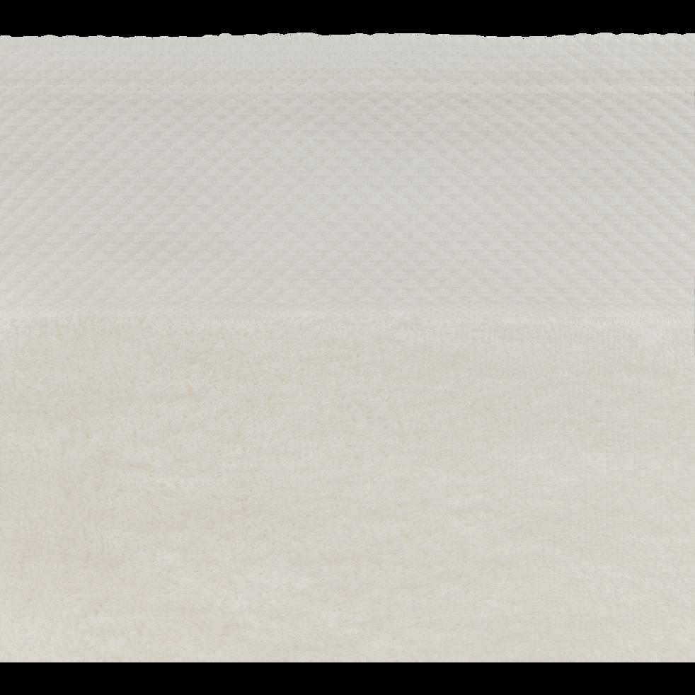 Drap de douche en coton 70x140cm blanc capelan-AZUR