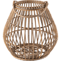 Lanterne en rotin naturel H44cm-Rade