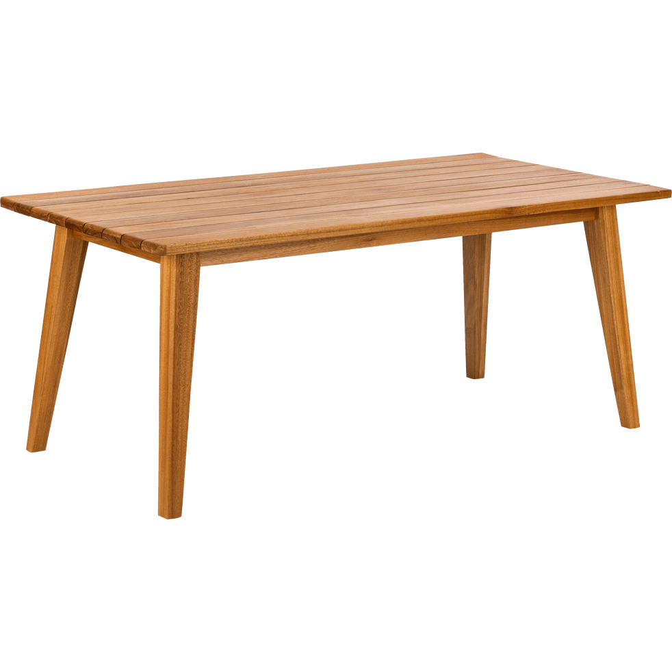 Table de jardin en eucalyptus (8 à 10 places)-LAVANDOU