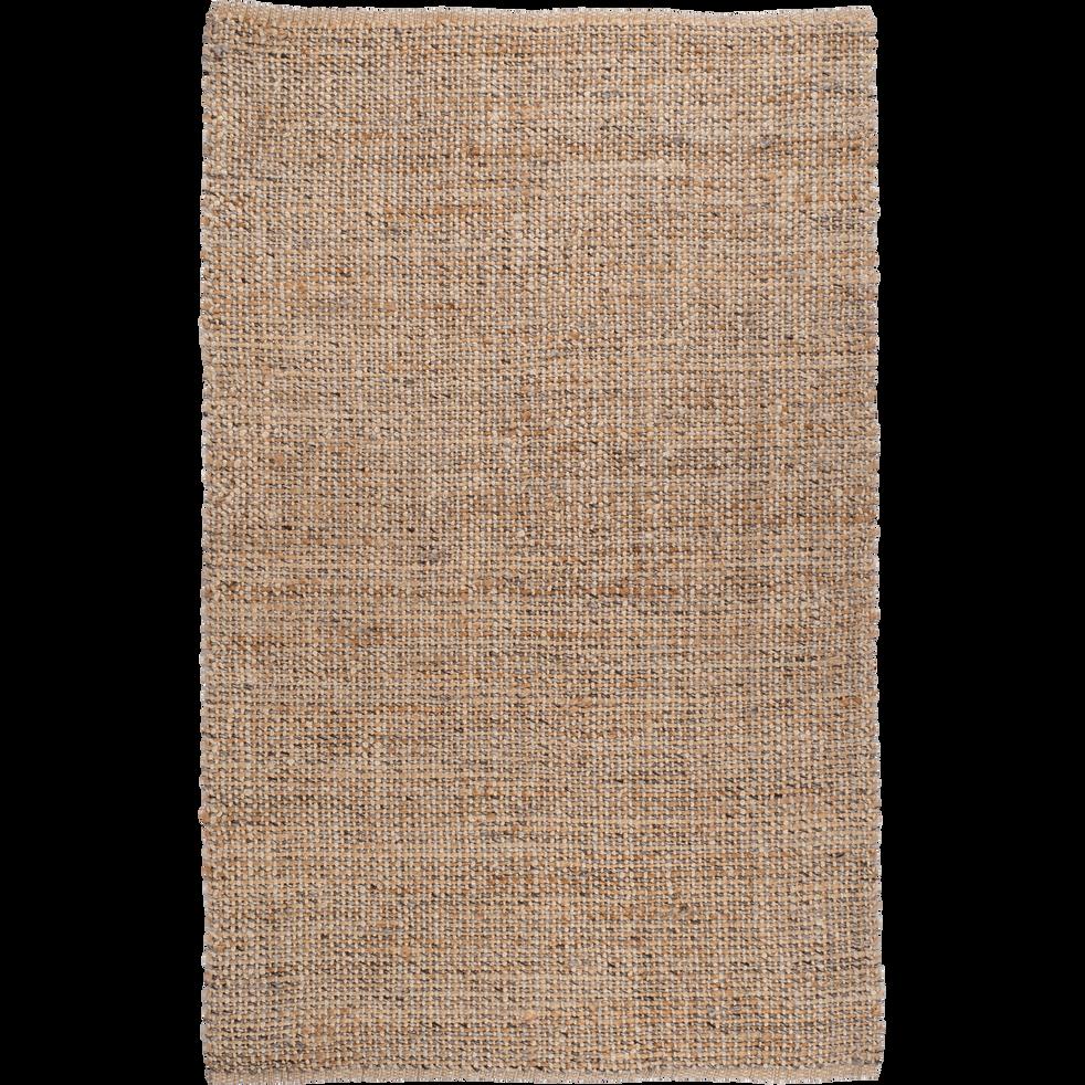 Tapis Tresse En Jute Gris Et Naturel 160x230cm Niolon 160x230 Cm