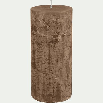 Bougie cylindrique brun albe-BEJAIA