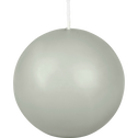 Bougie boule vert olivier-HALBA