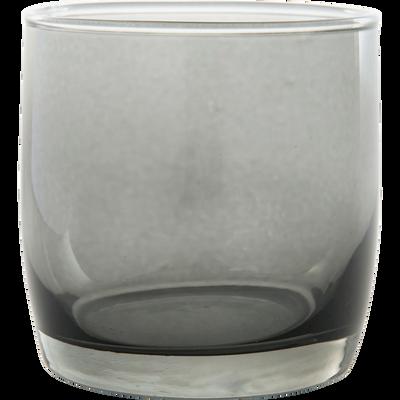 Verre à eau gris 30cl-BELLI