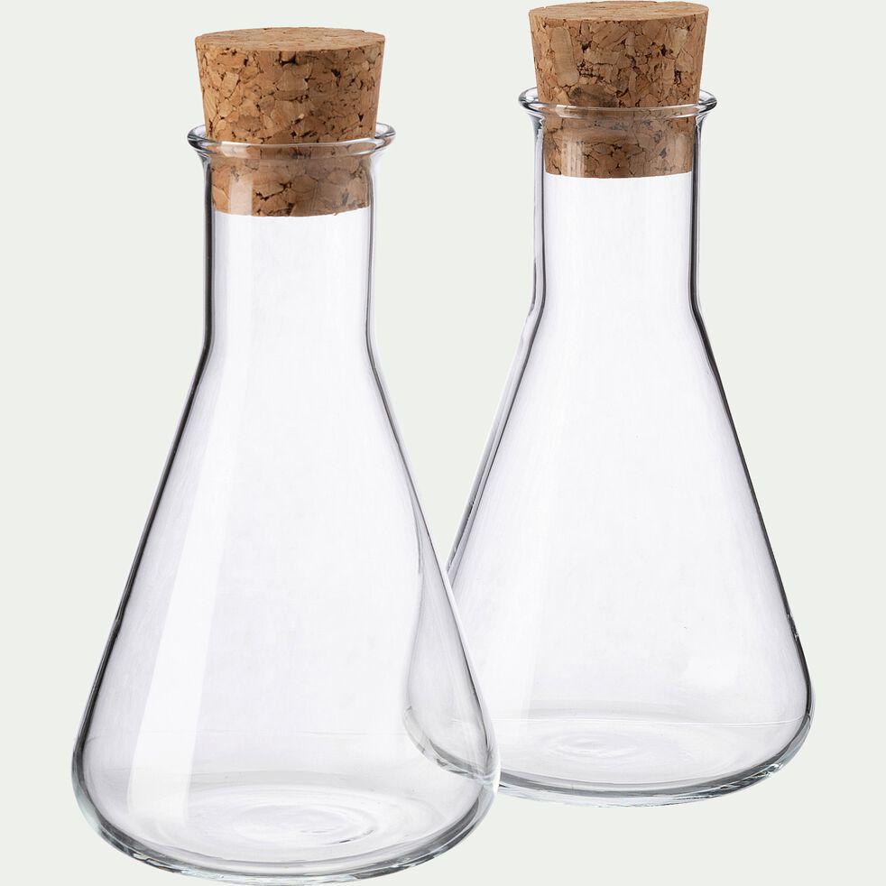 Huilier et vinaigrier en verre - 25cl-ERI