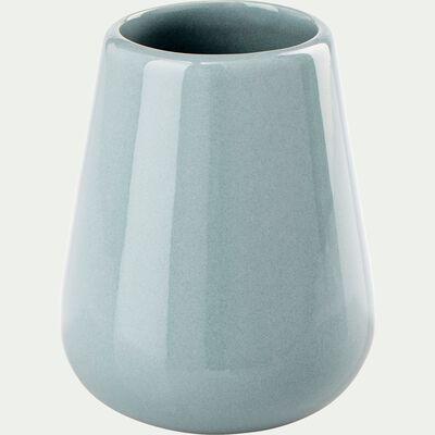 Porte brosse à dent en pierre - bleu calaluna-EUPHORBE