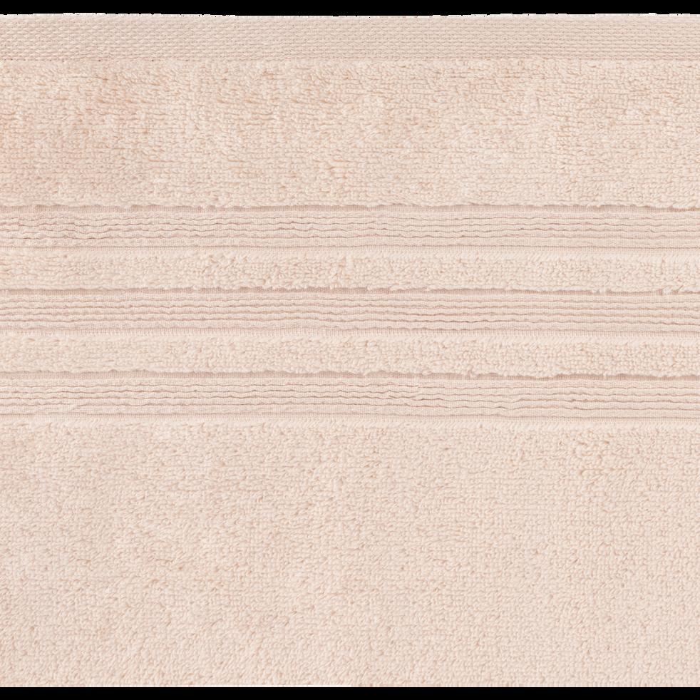 Drap de bain 100x150cm rose grège-NOUN