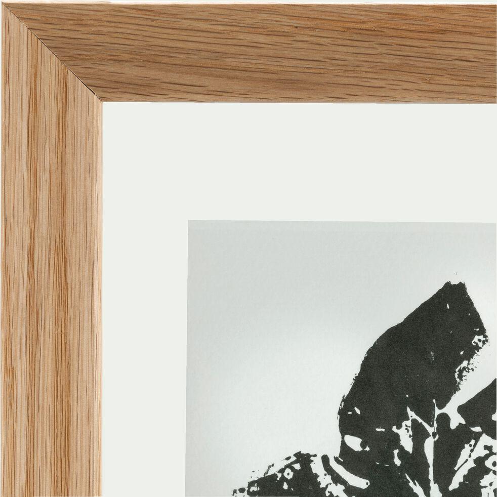 Image encadrée feuille de lierre 22x28cm-NATAQUA