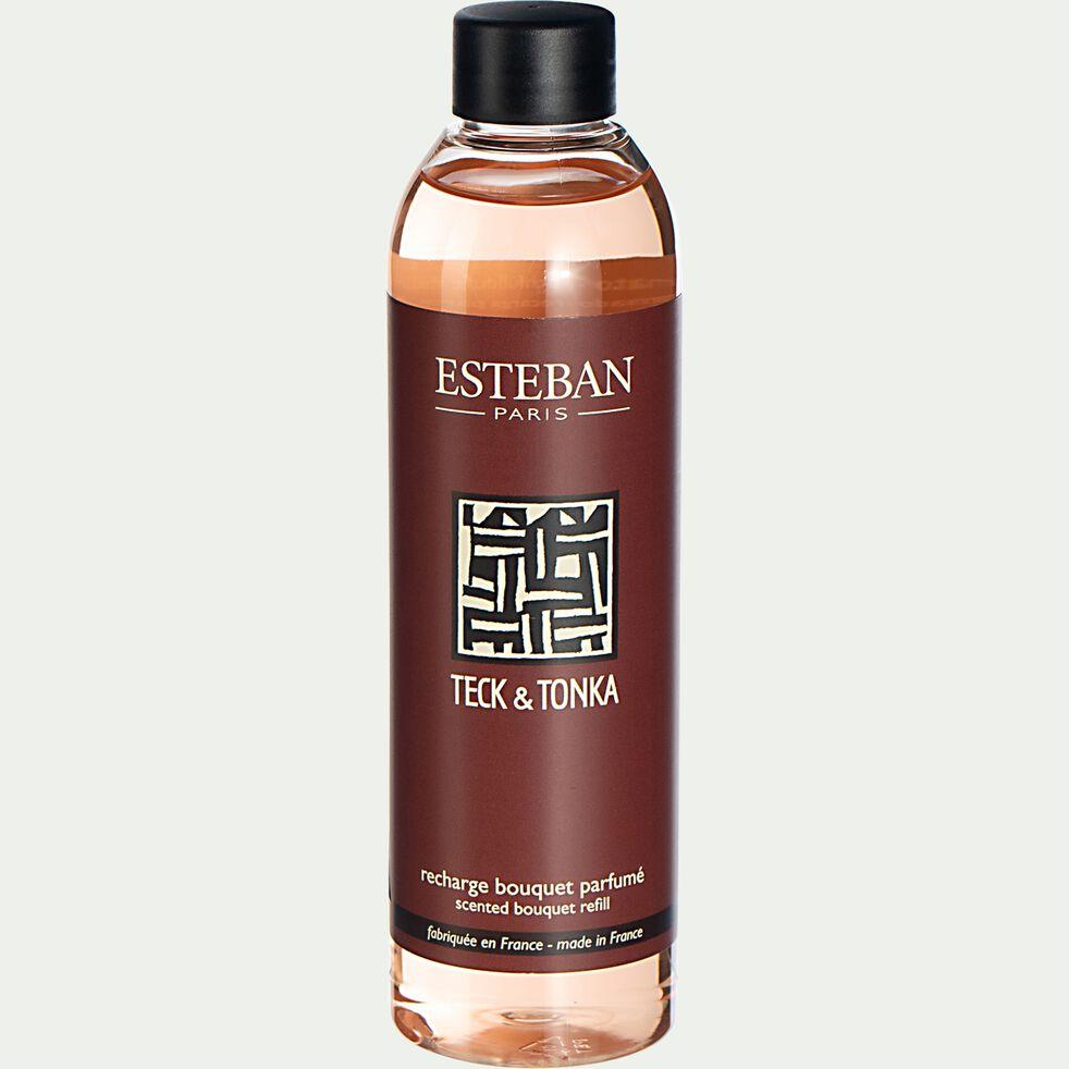 Recharge pour bouquet parfumé teck et tonka - 250ml-ESTEBAN