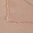 Plaid en coton 130x170 cm Rose nude-SAMIA