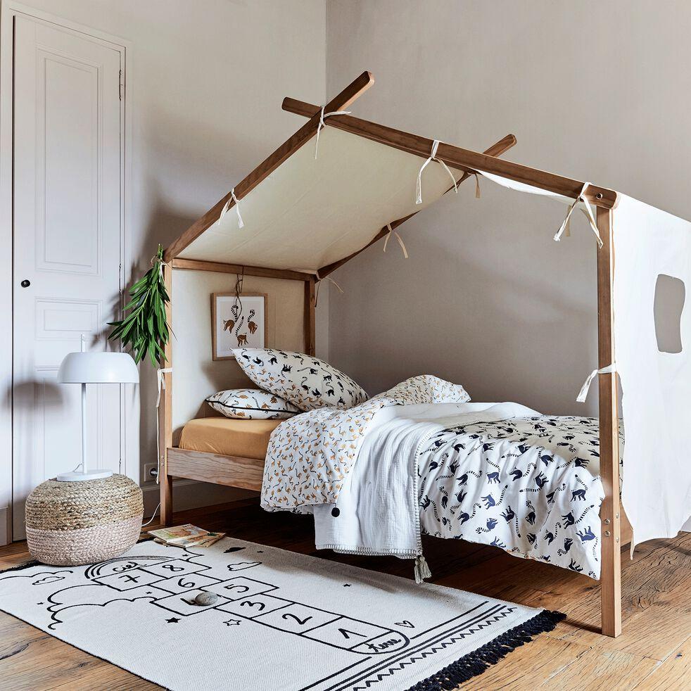 ALOUETTE - Tissu décor pour lit enfant Alouette