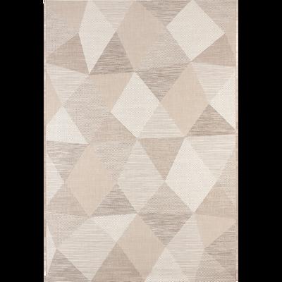 Tapis extérieur et intérieur beige 200x290cm-METRIX