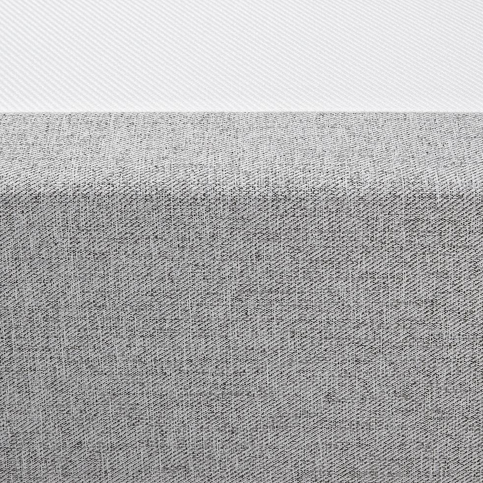 Sommier tapissier 90x200 gris clair-REDON