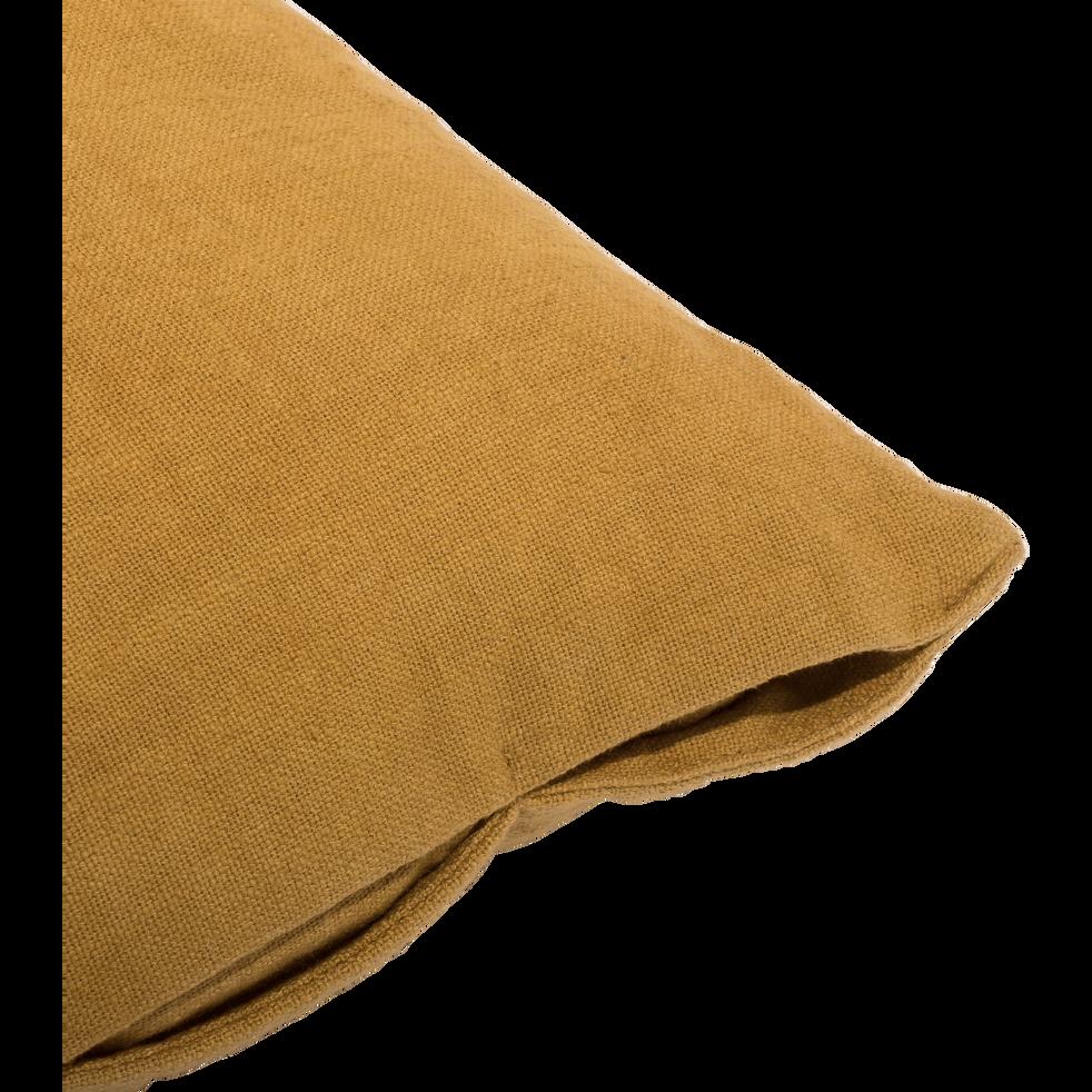 Coussin en coton jaune 40X60cm-MARINA