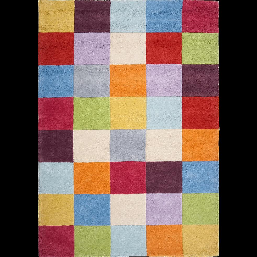 Tapis multicolore en coton 140x200cm-Game