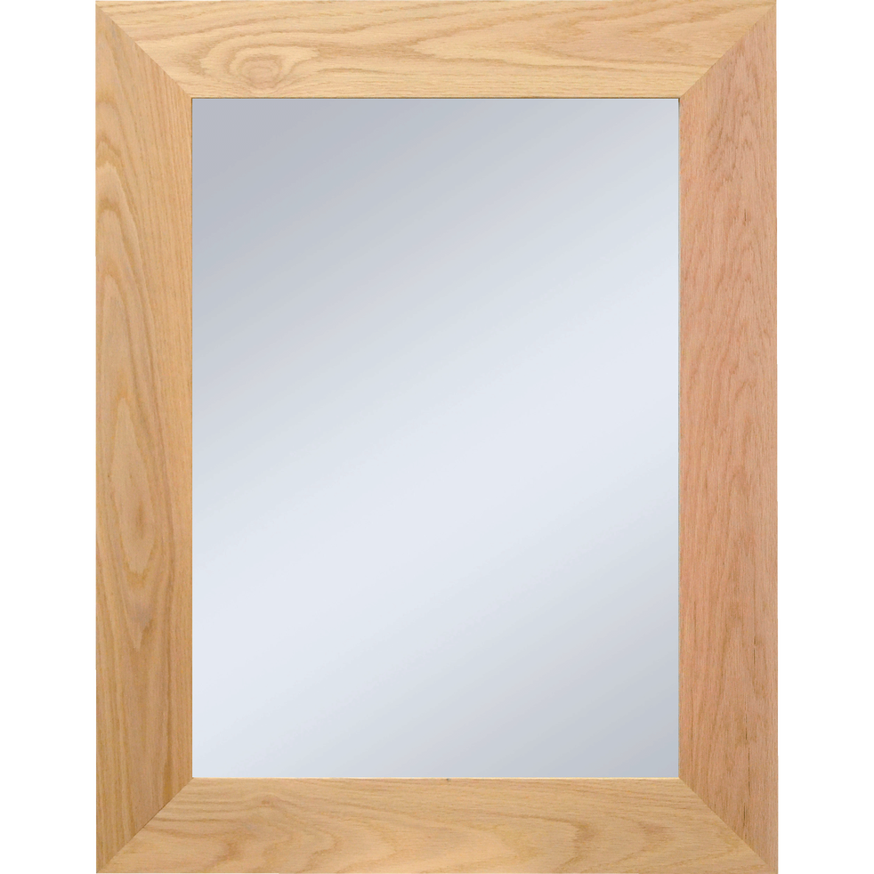 Miroir en chêne 69x89cm - EMBRUN - alinea