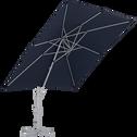 Parasol déporté bleu marine 3x3 m-BERNIS