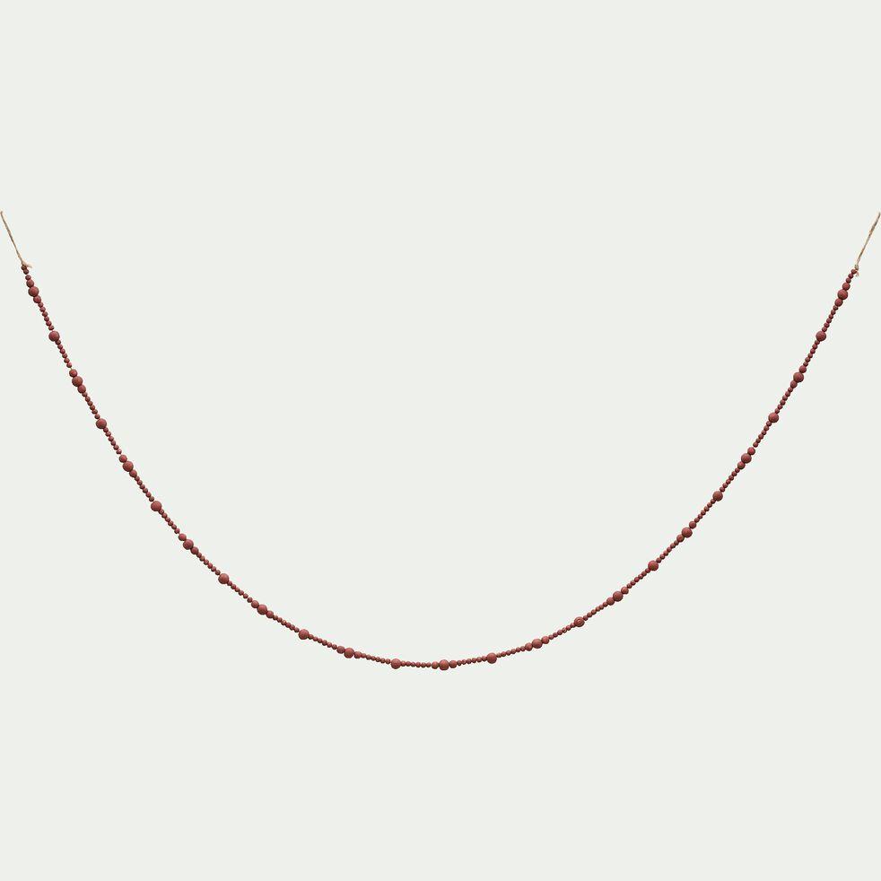 Guirlande en bois - rose L150cm-PRAVAR