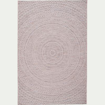 Tapis extérieur et intérieur écru 160x230cm-HYPNOSE