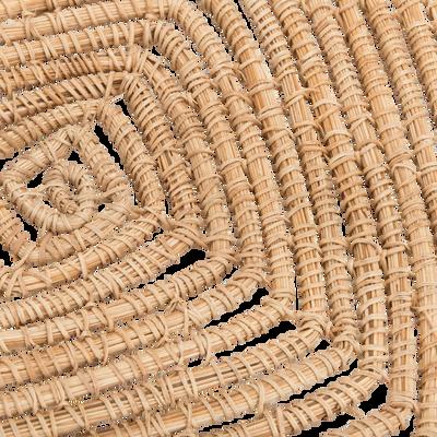 Set de table carré en fibres de palmier 35x35cm-ARAL
