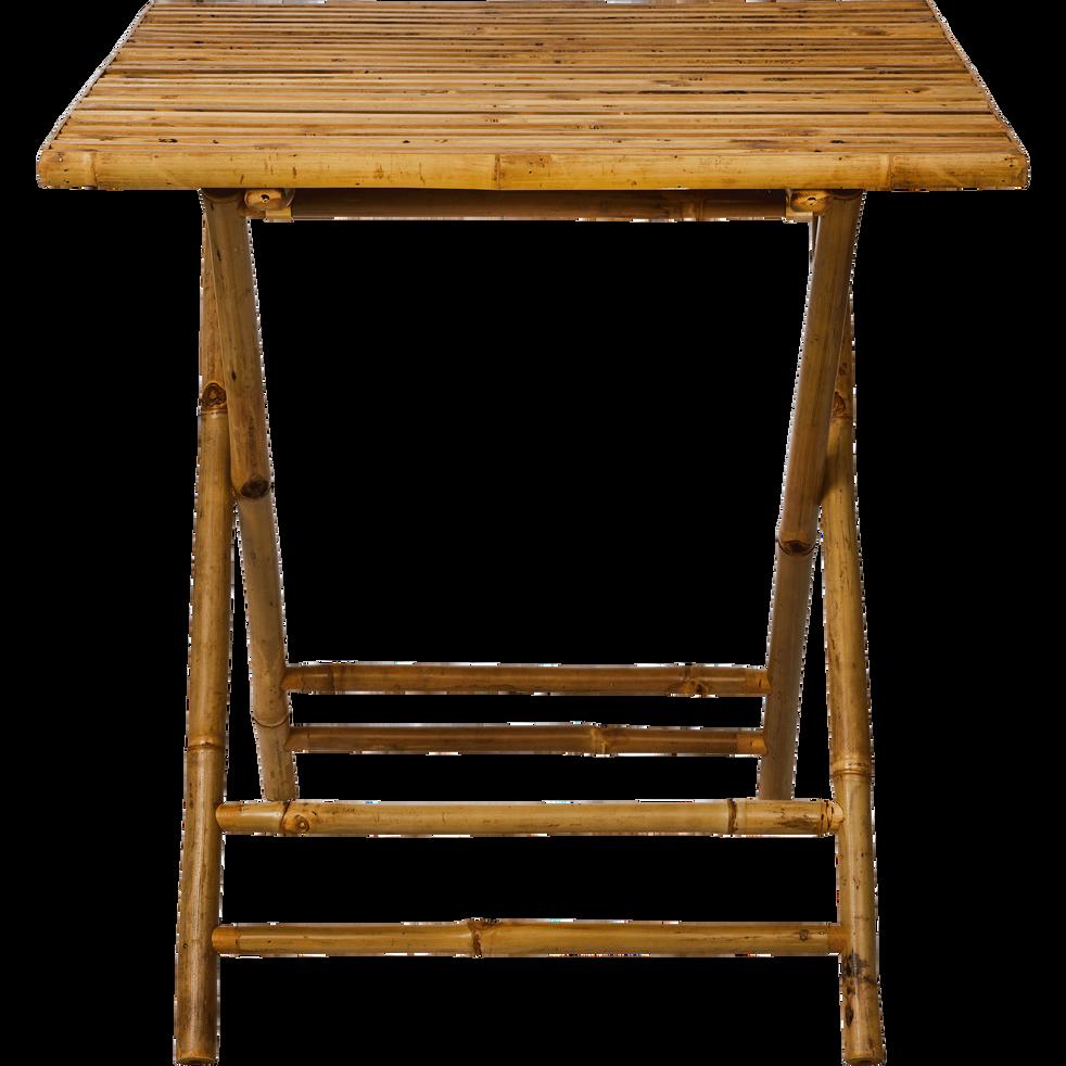 table de jardin pliante l70cm 2 places nimes tables de jardin alinea