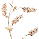 Branche artificielle rose poudré L110cm-HOI
