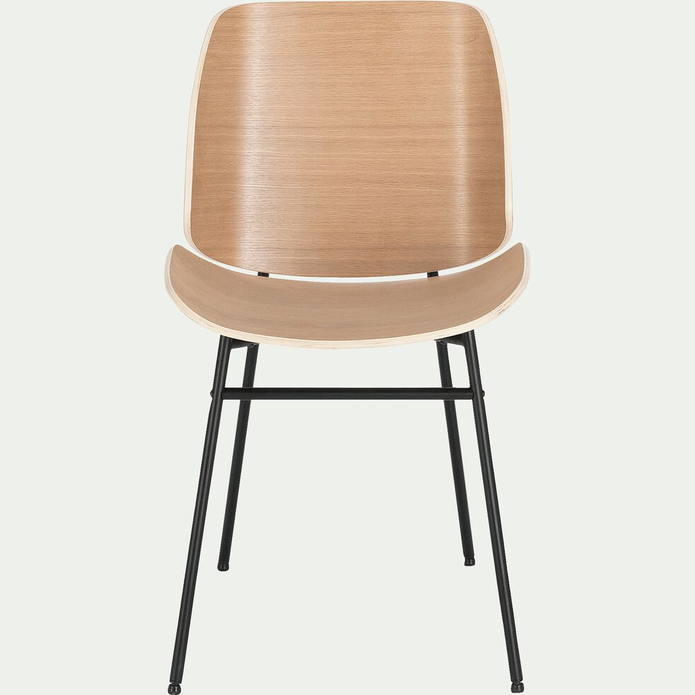 Chaises Alinea Salle A Manger cordoba - chaise en bois plaqué naturel