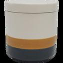 Boîte en céramique H16cm-PARKIA