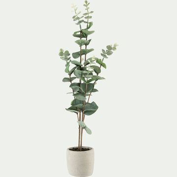 Plante artificielle eucalyptus - vert H51cm-EUCALYPTUS