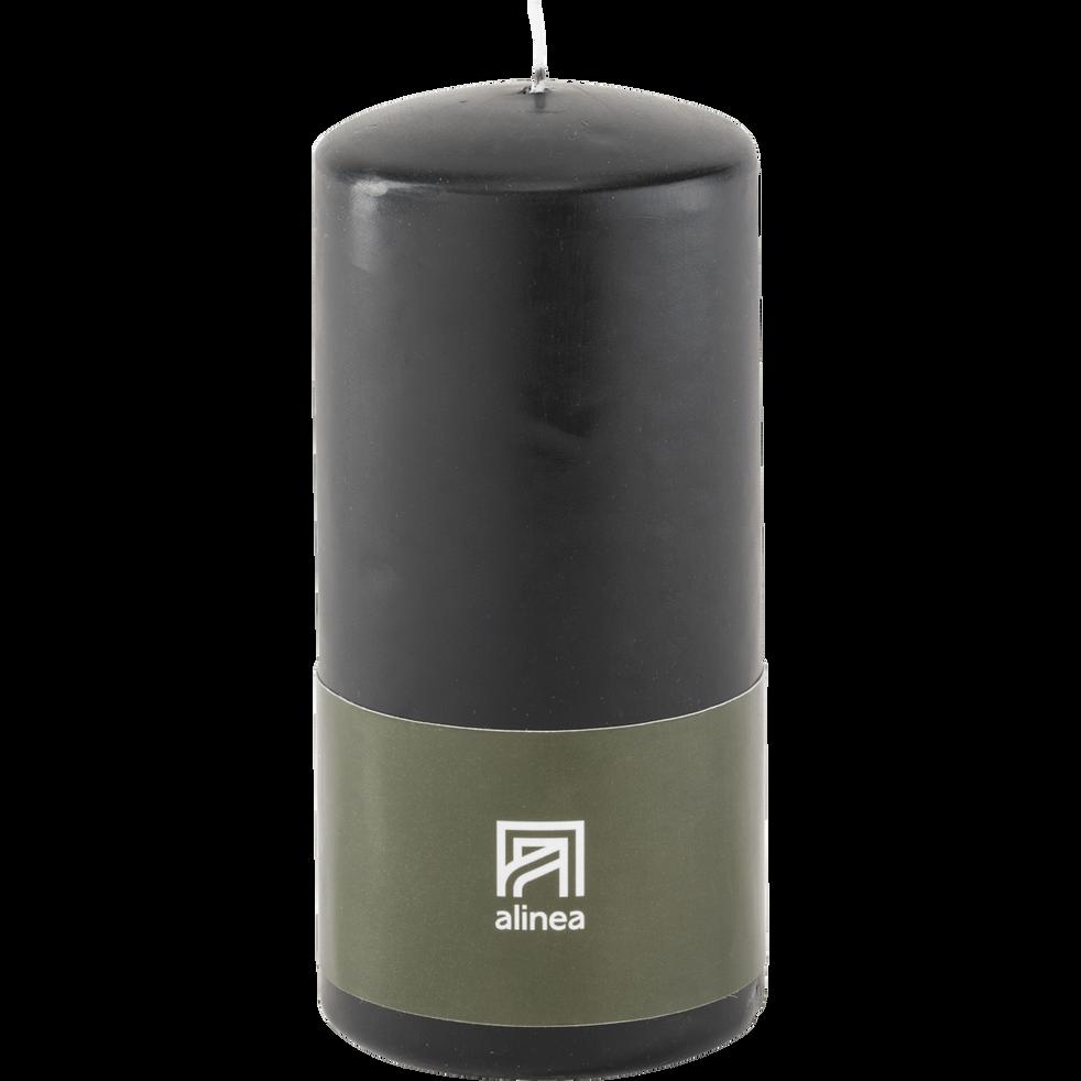 Bougie cylindrique gris calabrun-HALBA
